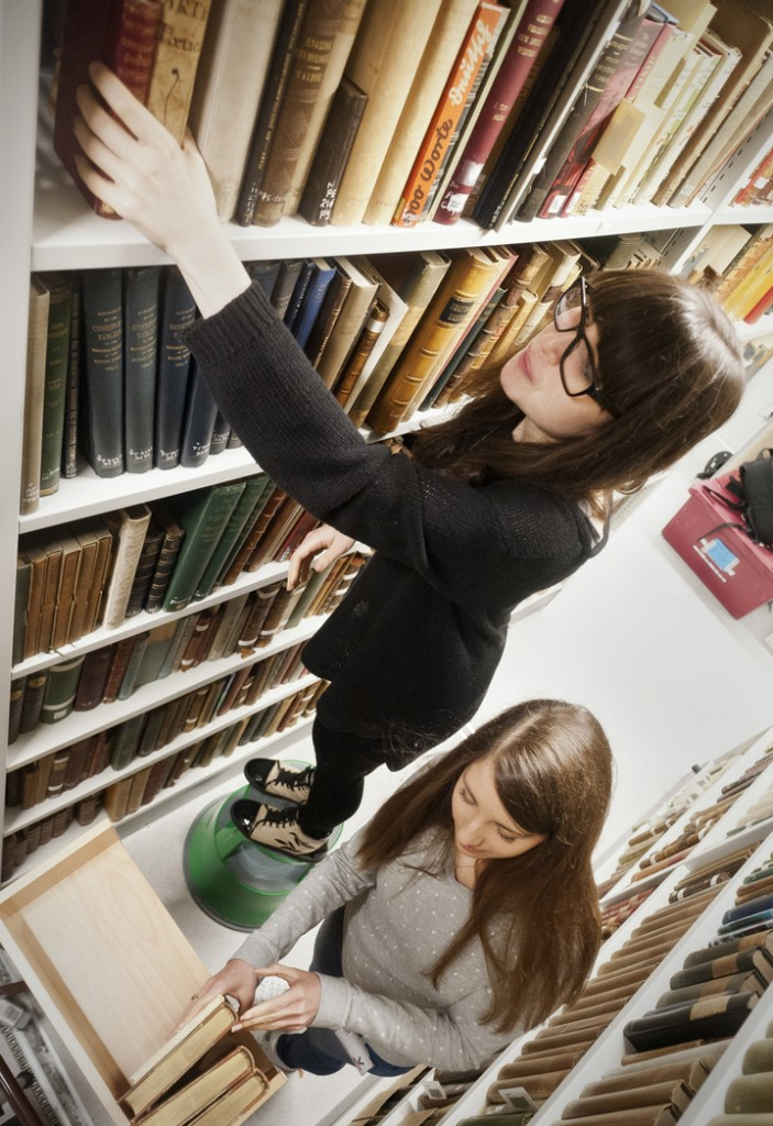 lighting the past in the stacks