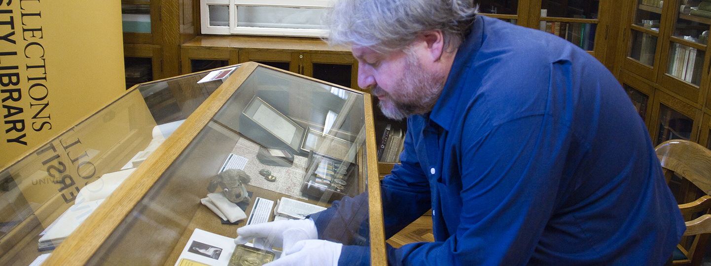 LEEDS special-collections-display