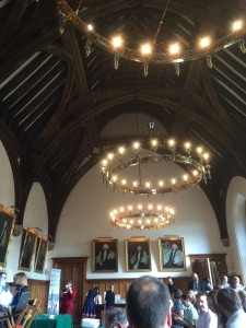 The Guard Room of Lambeth Palace, the grand setting for the second day of the Conference