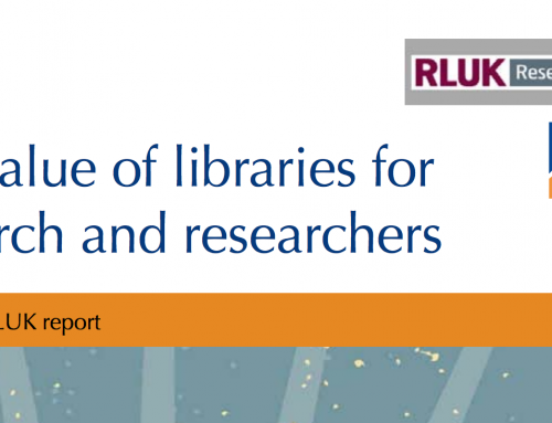 The value of libraries for research and researchers