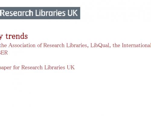 RLUK library trends