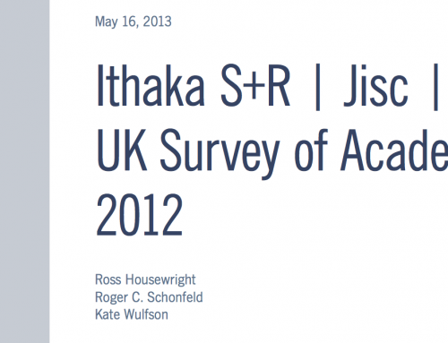 UK Survey of Academics 2012