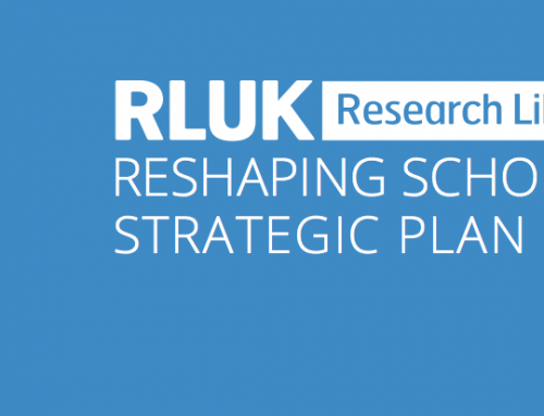 Reshaping Scholarship: RLUK's Strategic Plan 2018-21
