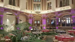 Conference dinner at the Chambre de Commerce et d'Industrie