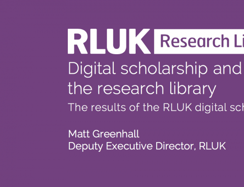 Digital scholarship and the role of the research library