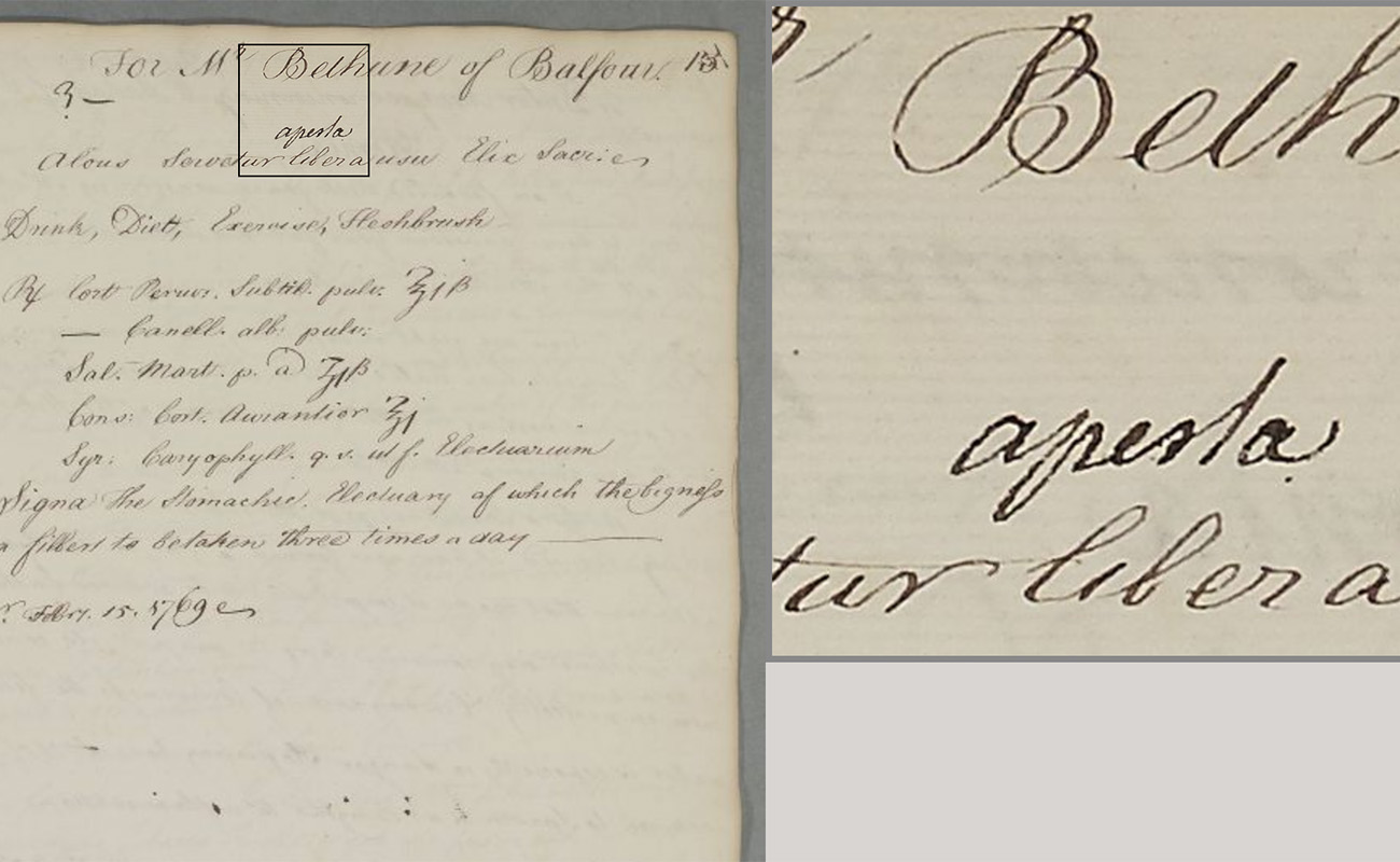 The Cullen Project: digitising medical history