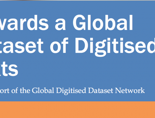 Towards a Global Dataset of Digitised Texts